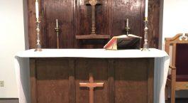 altar back